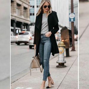 Reformation // High & Skinny Jeans in Havana